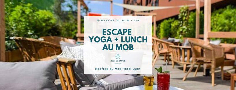 Relax : Participez à un escape yoga et lunch au MOB HOTEL