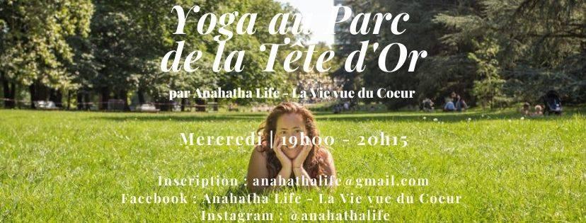 Loisirs : Yoga au Parc de la Tête d'Or