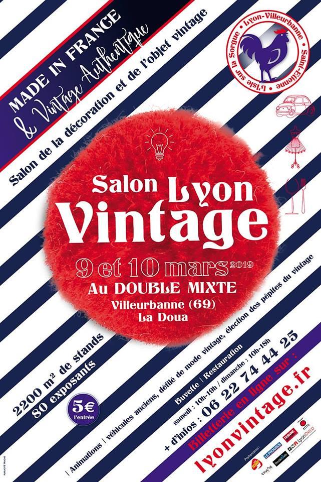 Le Salon Lyon Vintage est de retour pour une 8e édition !