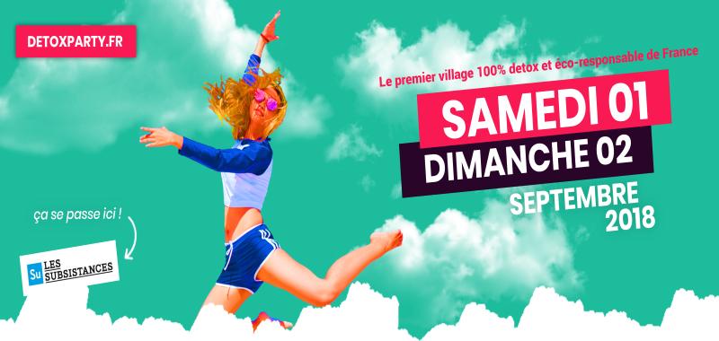 Le village detox party débarque à Lyon !