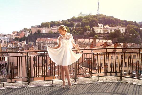 Une robe de mariée sur mesure avec Ludivine Guillot