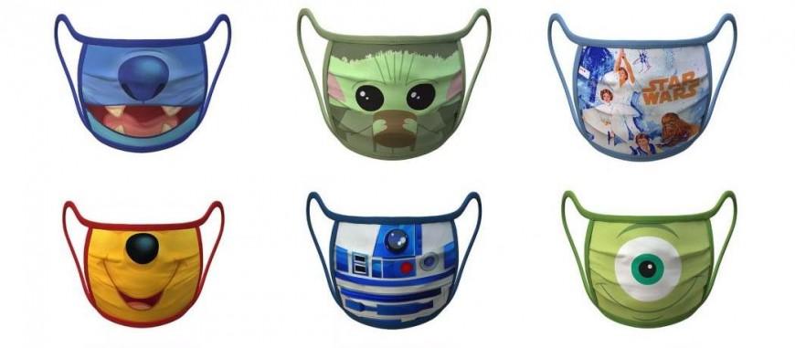 Disney produit des masques à l'effigie de personnages cultes