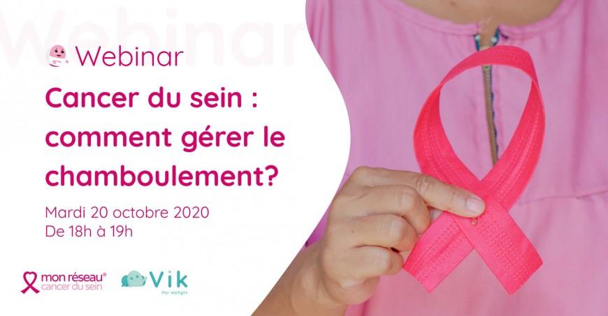 Santé : Cancer du sein : comment gérer le chamboulement?