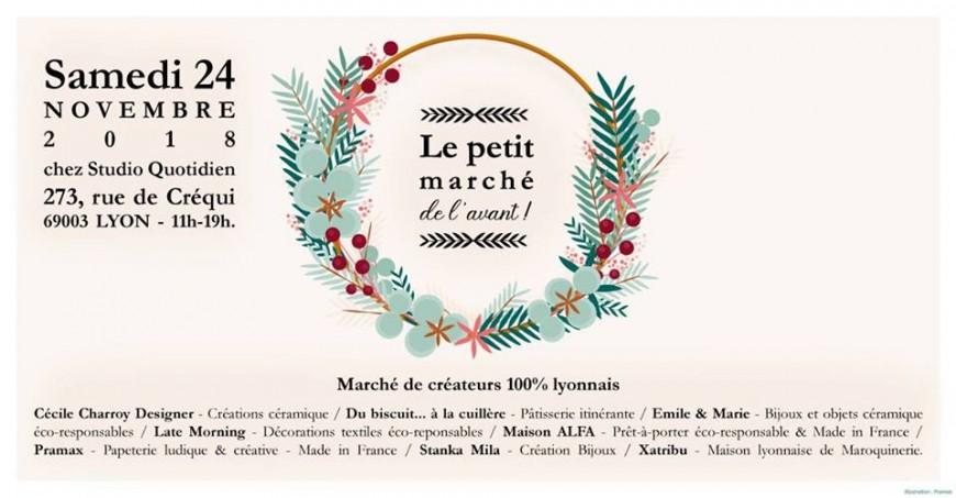"""""""Le Petit Marché de l'Avant"""" arrive à Lyon ce samedi !"""
