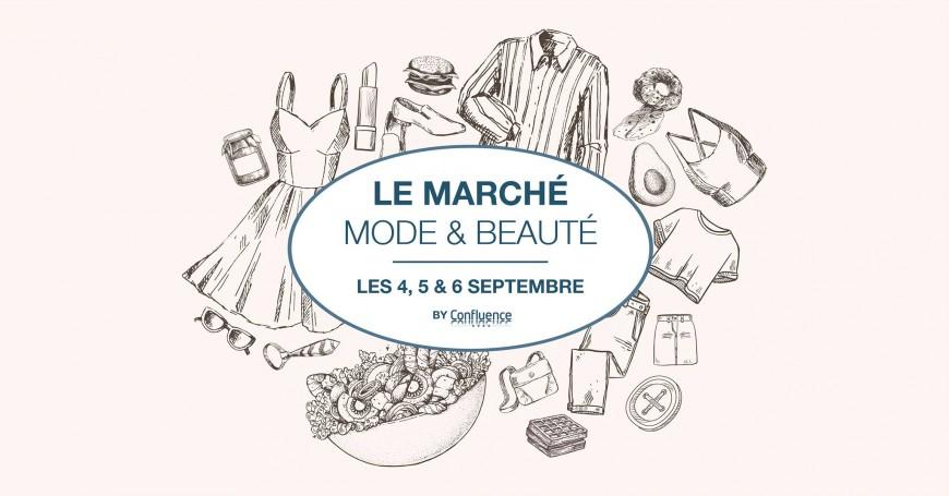 Shopping : Le marché mode & beauté by Confluence
