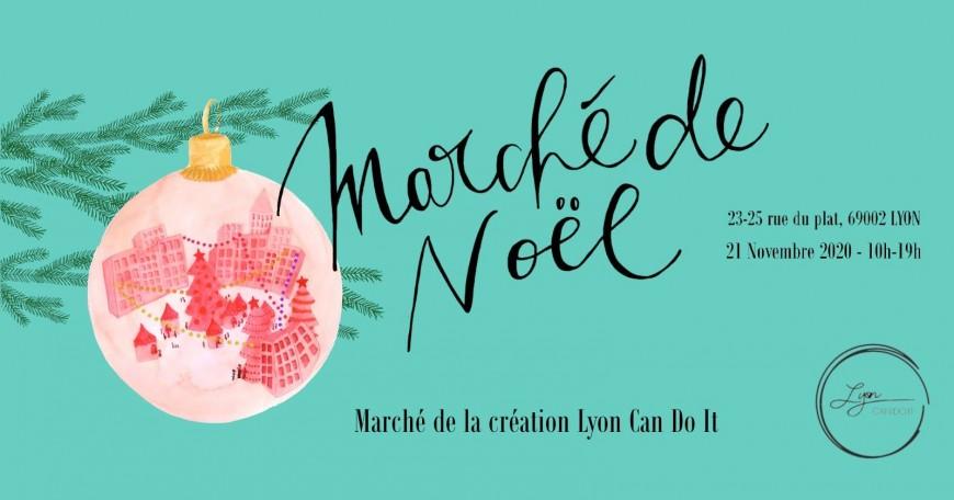 Shopping : Marché de noël Lyon Can Do It