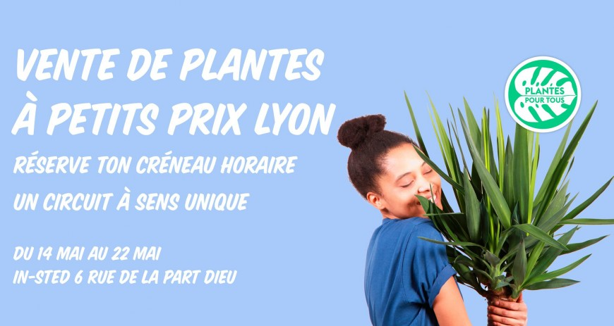 Vente de Plantes à petits prix à Lyon