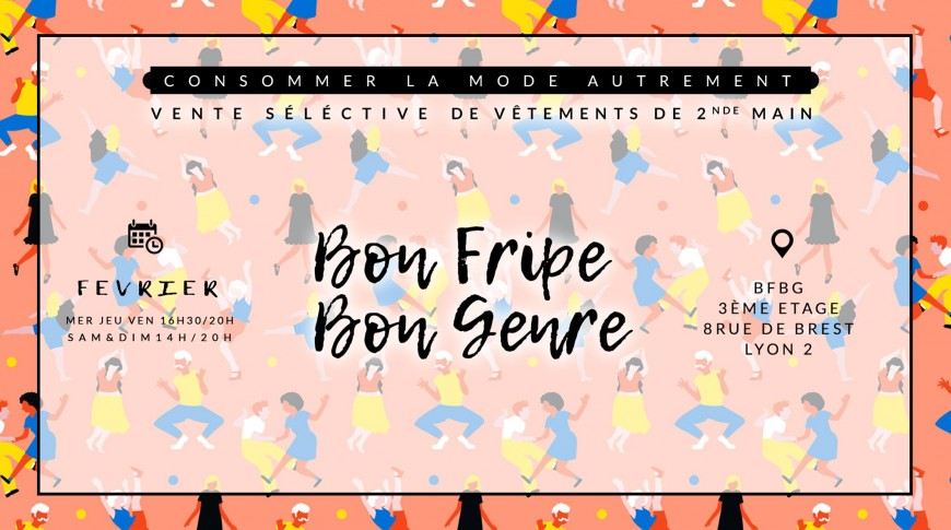 HAPPY BIRTHDAY Bon Fripe Bon Genre !