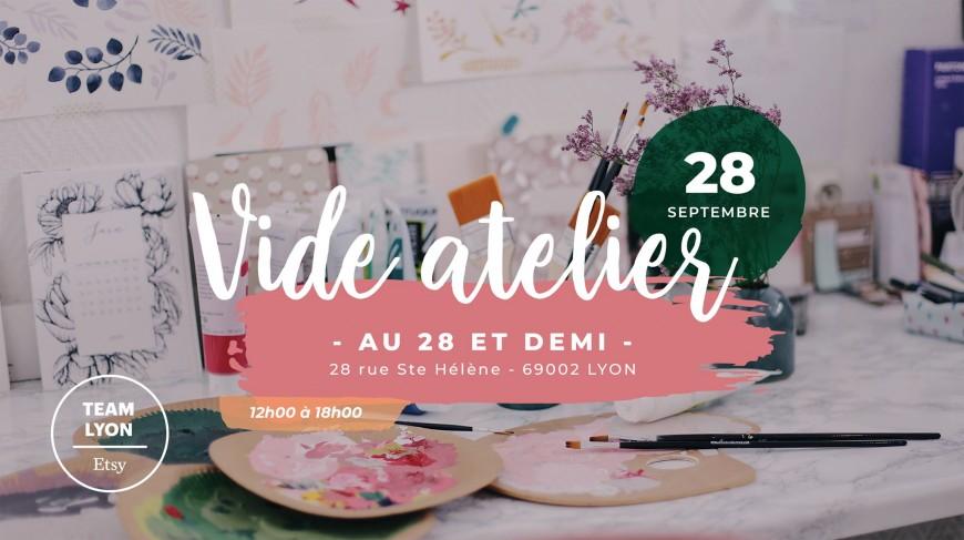 Vide-Atelier par la team Etsy Lyon