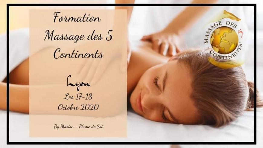Bien-être : Formation Massage des 5 Continents