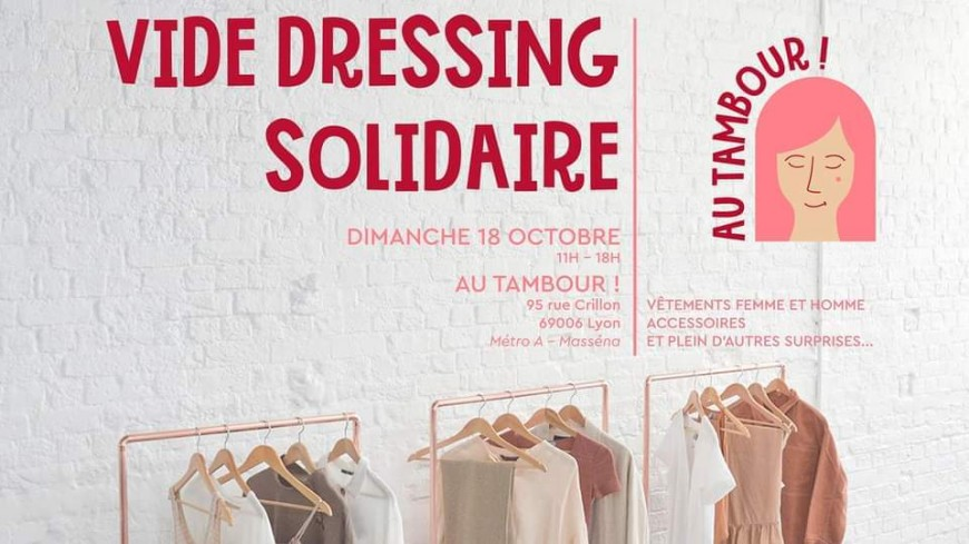 Shopping : Vide dressing solidaire Au Tambour !