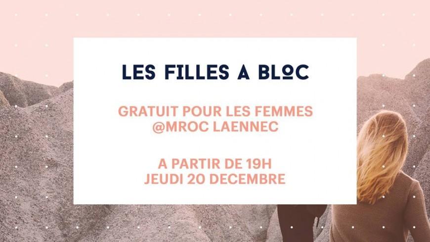 Les Filles à bloc, une soirée de grimpe by MROC Laennec !