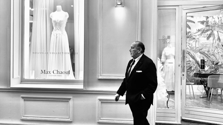 News : Le couturier Max Chaoul est décédé