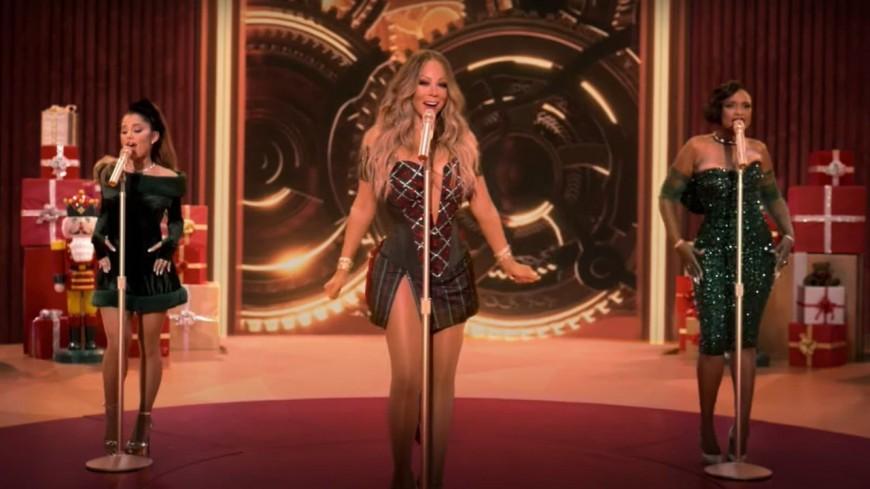 News : Mariah Carey, Ariana Grande et Jennifer Hudson réunies sur un titre de Noël (vidéo)