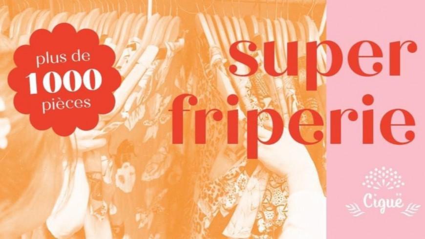 Shopping : SUPER FRIPE #4 - Vente Ciguë Vintage à Lyon