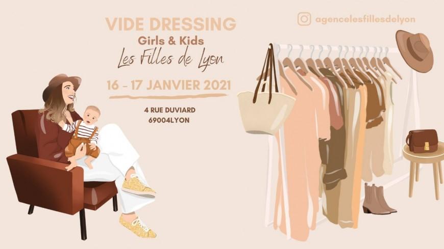 Shopping : Vide Dressing Girls & Kids LES FILLES DE LYON
