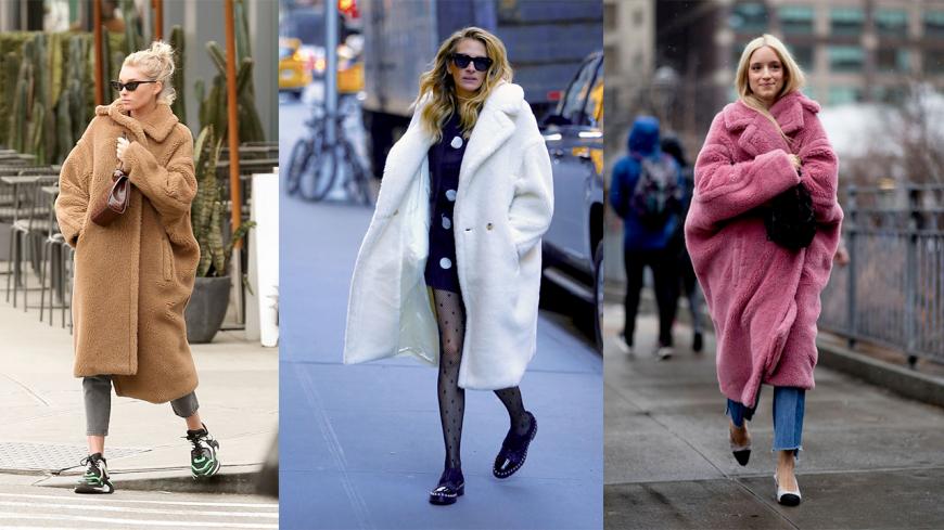 Mode : Le manteau teddy bear pour allier style et confort