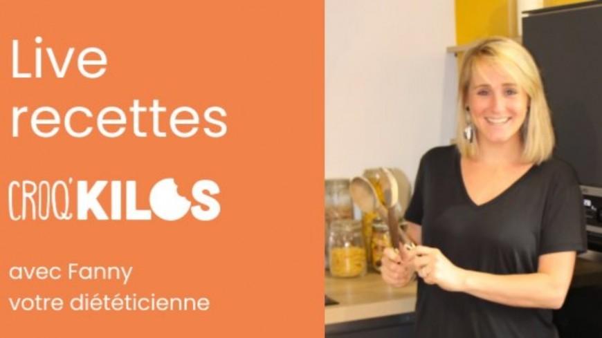 Food : Live Croq'Kilos - Recette plaisir au Nutella