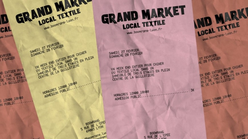 Shopping : Grand Market « LOCAL TEXTILE »