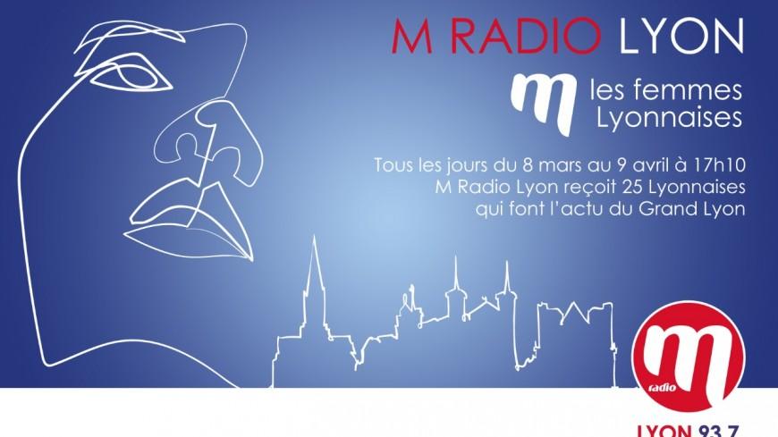 M RADIO M LES FEMMES AVEC LYON FEMMES : Portrait de Séverine Maisonneuve