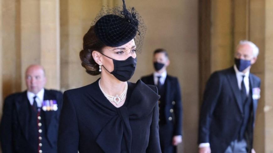 News : L'hommage de Kate Middleton à la reine Elizabeth II et Lady Di lors des funérailles du prince Philip