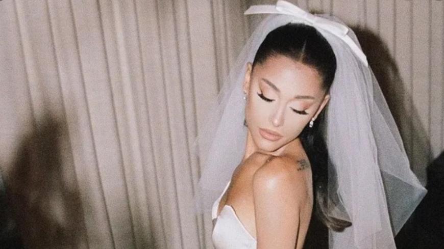 People : Ariana Grande publie les photos de son mariage  !