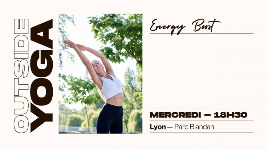 Des cours de yoga au parc Blandan organisés toutes les semaines !