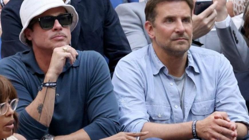 Brad Pitt et Bradley Cooper : le duo qui a fait fondre les spectateurs de l'US Open !