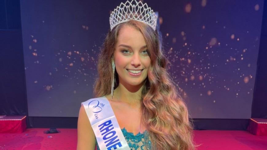 Miss Rhône-Alpes 2021 : Charlotte Faure remporte la couronne !