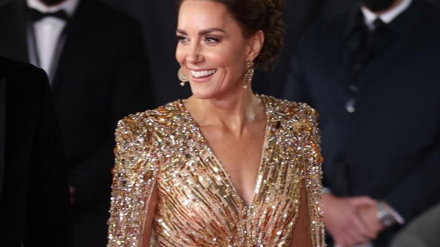 Kate Middleton fait sensation à l'avant-première de James Bond !