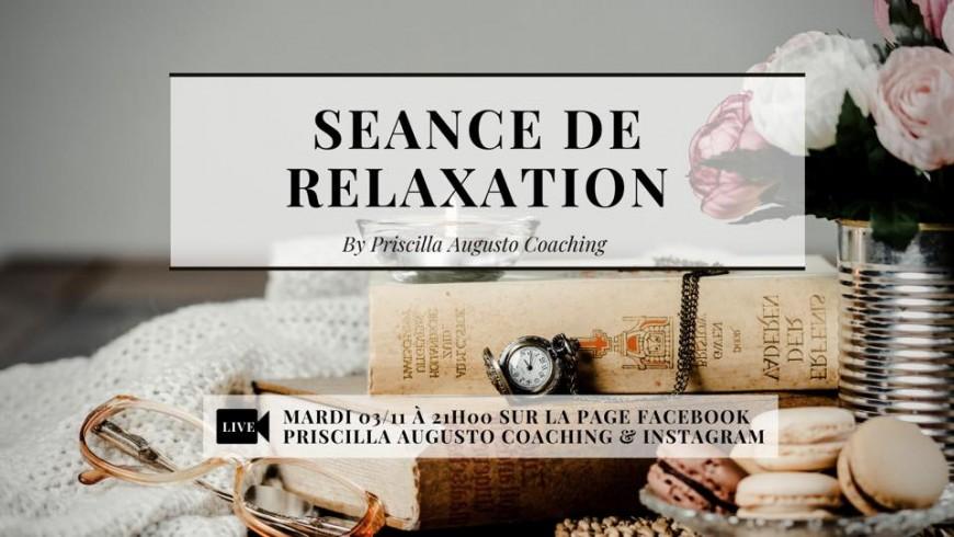 Bien-être : Séance de relaxation
