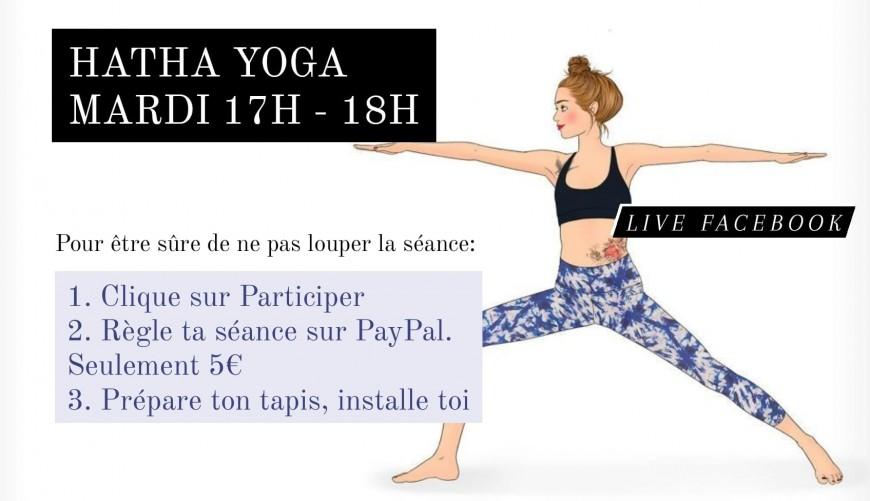 Loisirs : Hatha Yoga en ligne