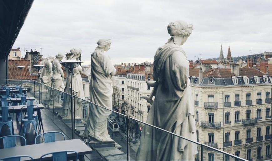 Le rooftop des Muses de l'Opéra fait son grand retour !