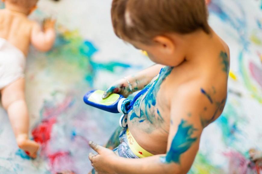 Kids : Stage bébé peinture