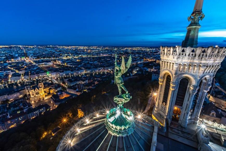 Visites nocturnes de Notre-Dame de Fourvière !