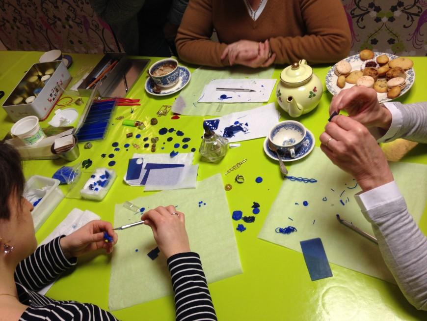 L'EXQUISE TROUVAILLE : un salon de thé dans un magasin déco !