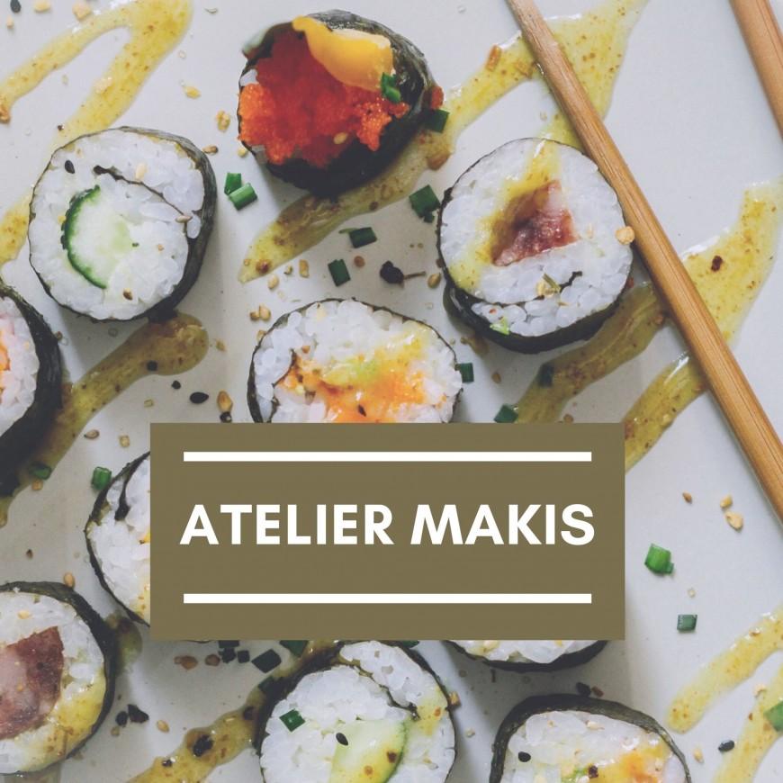 Food : Atelier Nutrition - Makis