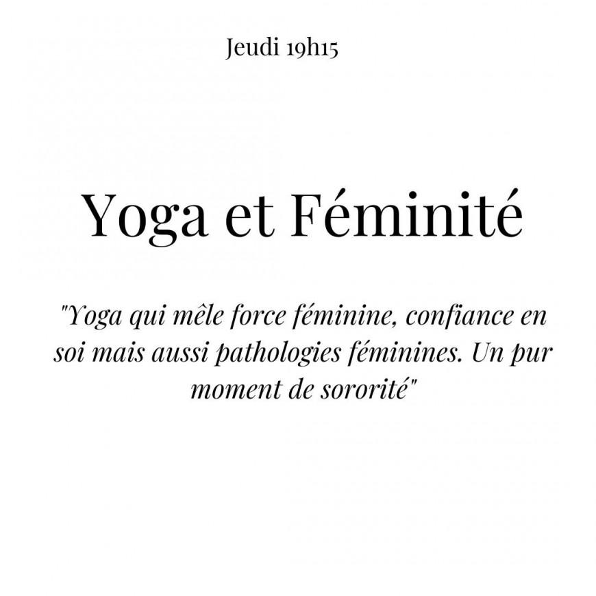 Loisirs : Yoga et Féminité en ligne