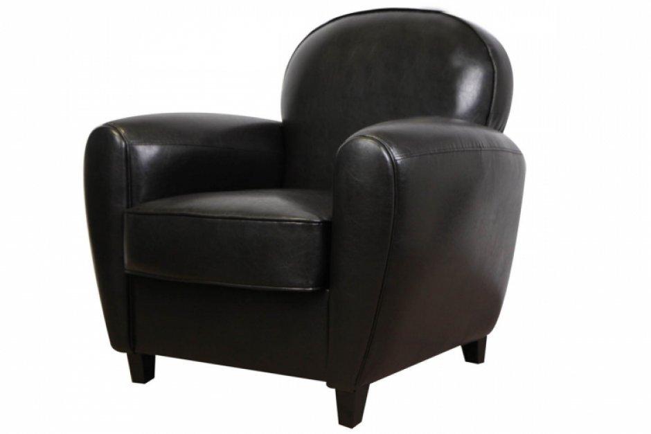 fauteuil club noir. Black Bedroom Furniture Sets. Home Design Ideas