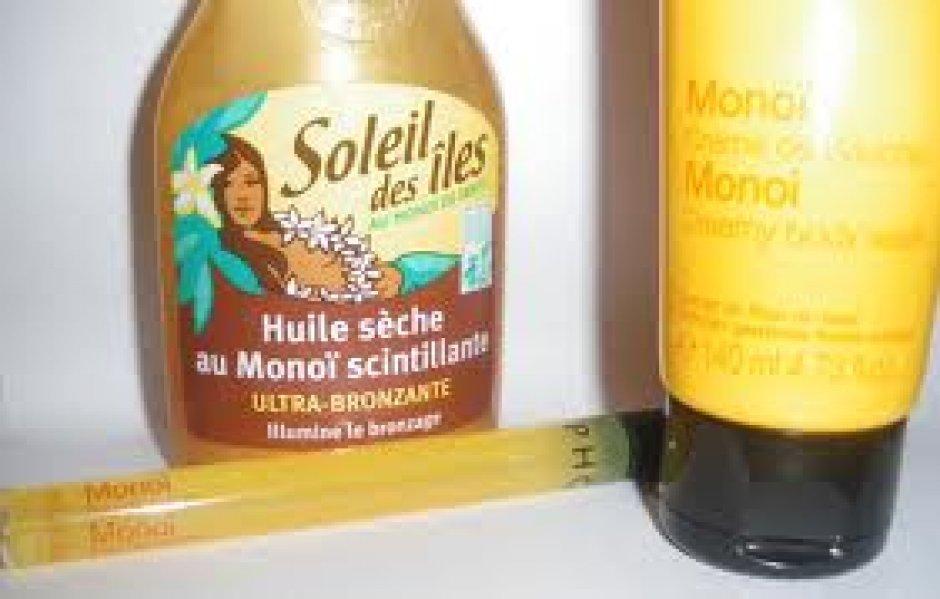 huile pour bronzage