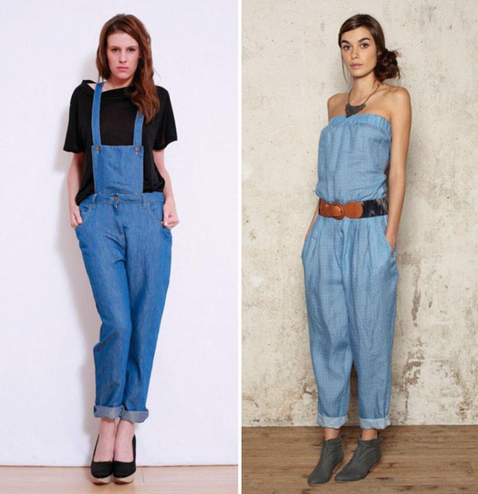 La salopette est tendance ce printemps ete 2013 comment la porter lyon femmes - Comment porter la salopette ...