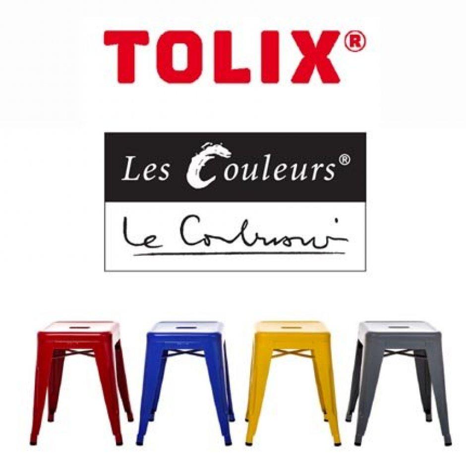 Couleurs le corbusier la collection tolix prend des couleurs le - Les couleurs du salon ...