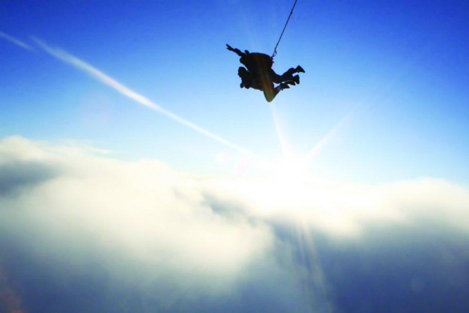 Très Saut en parachute | Lyon Femmes FC08