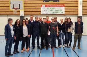 ALGM Basket - julie et cyrielle - présidentes