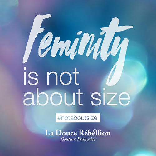 feminity is not about size