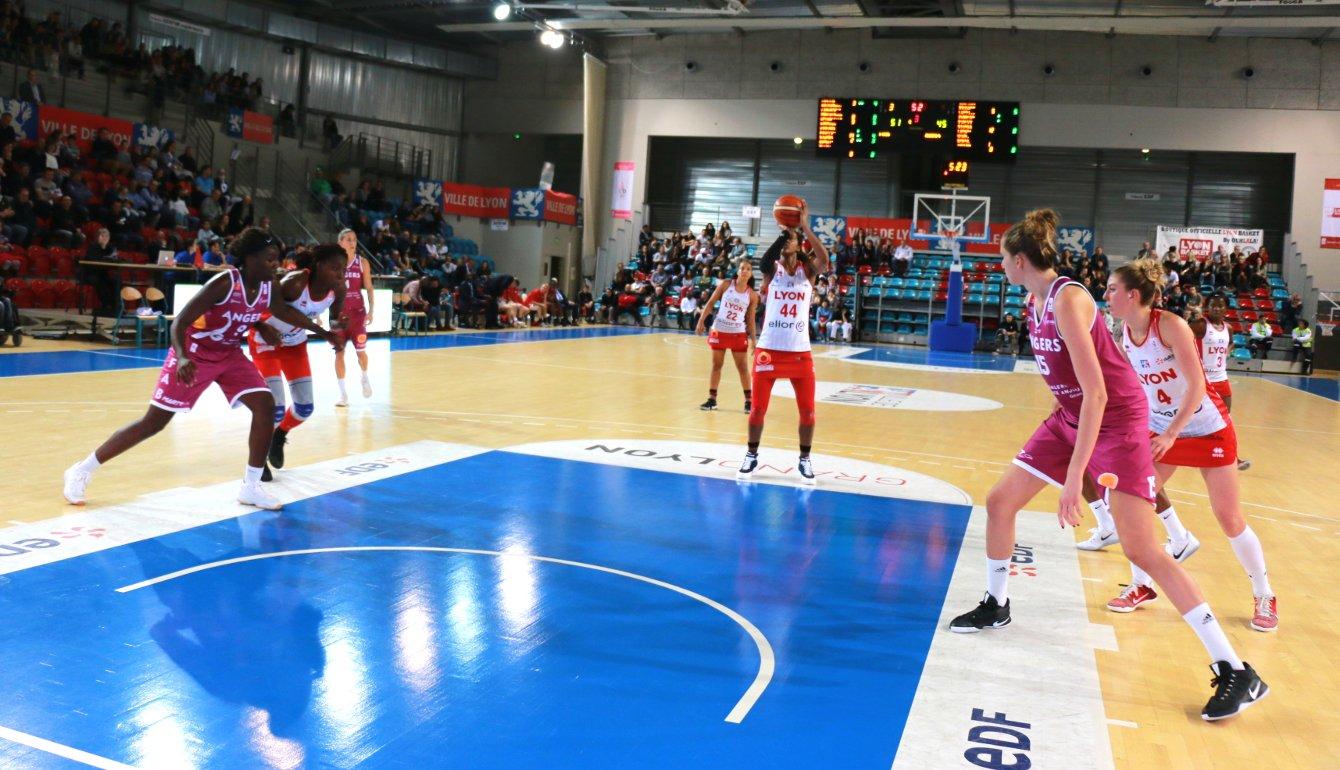 Demie finale de coupe de france pour l quipe lyon basket - Finale coupe de france basket feminin ...
