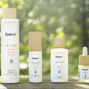En osmose avec sa peau grâce aux produits Cosmoz !