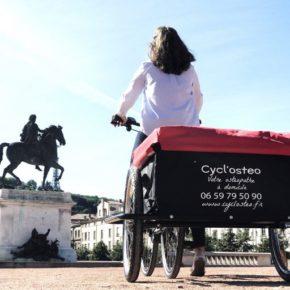 A Lyon, une ostéo à vélo …