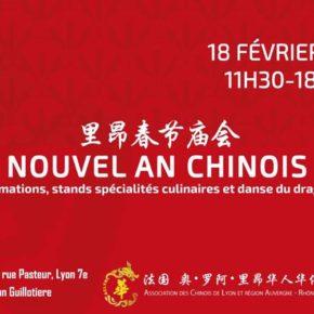 Lyon se met aux couleurs du nouvel an chinois
