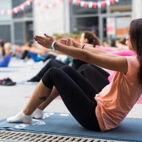 Cours de Pilates au Novotel Lyon Part Dieu!